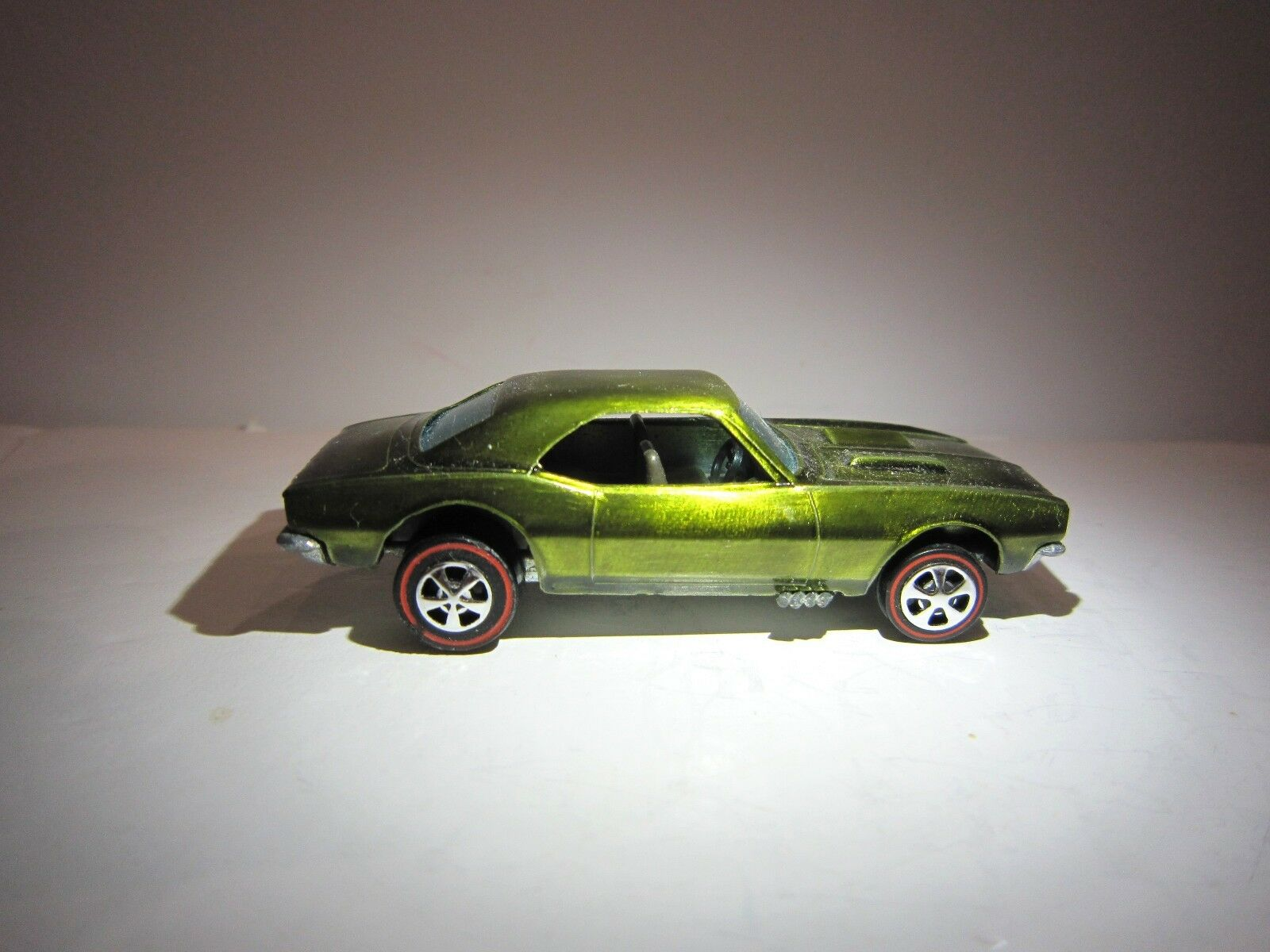 Hot Wheels REDLINE CUSTOM CAMARO Chevrolet 1967 HK OLIVE RestoRouge  !! | Online Shop