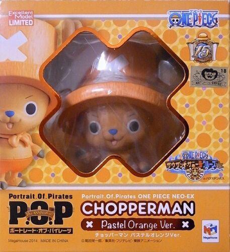 P.O.P Chopperman ver pastel orange ONE PIECE Megahouse Chopper man POP
