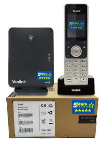 Yealink-W60P-DECT-Cordless-Handset-w-Base-Brand-New-1-Year-Warranty