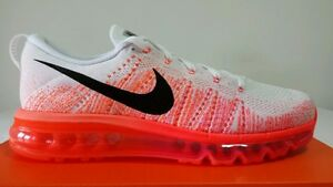 nouveau produit 7b060 269a9 Details about NIKE AIR MAX FLYKNIT 97 WHITE ORANGE FLUO N.40 PRICE CALL  IMMEDIATELY