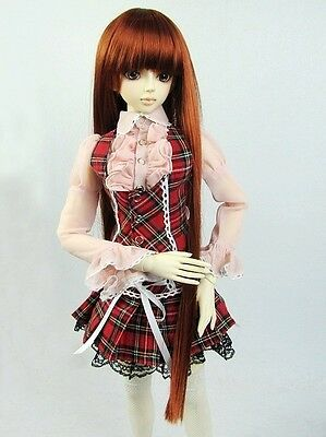 [wamami] 290# Red Plaid Dress/Shirt/Suit 1/3 SD AOD DOD DZ BJD Dollfie
