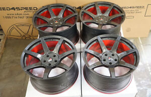 """19"""" Project 6GR7 Carbon Hydro Dip Wheels Ford Mustang Shelby GT350 GT350R"""