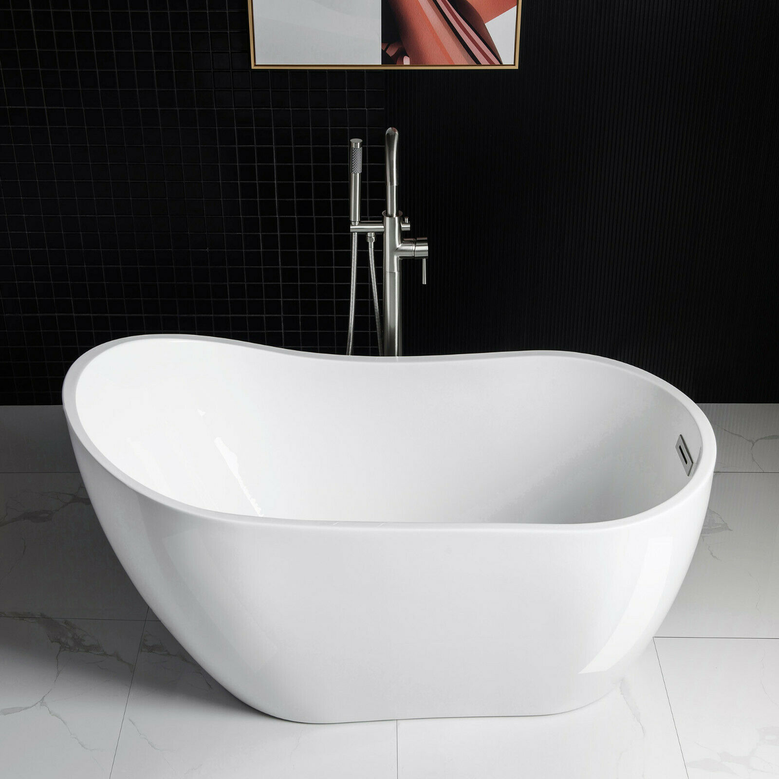 Bathtubs and Overflow Set With füllfuktion a564crm2