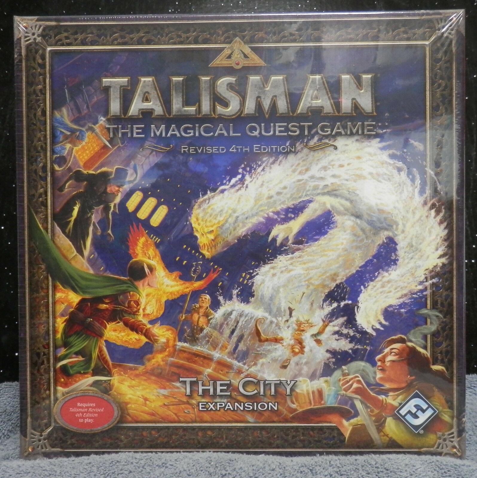Talisman The City Expansion  Fantasy Flight new