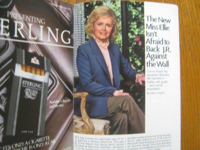 1984 TV Guide(KATE & ALLIE/TONY DANZA/THE EWOK ADVENTURE/DONNA REED/JANE CURTIN)