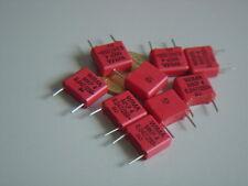 WIMA MKP4  10 pcs 0,047uF 47nF 250V 10% Polypropylen RM7,5mm Capacitor rot NEU