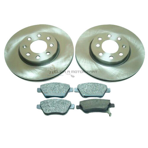 VAUXHALL CORSA D 1.2 1.3 CDTI 1.4 2006-2014 FRONT 2 VENTED BRAKE DISCS AND PADS
