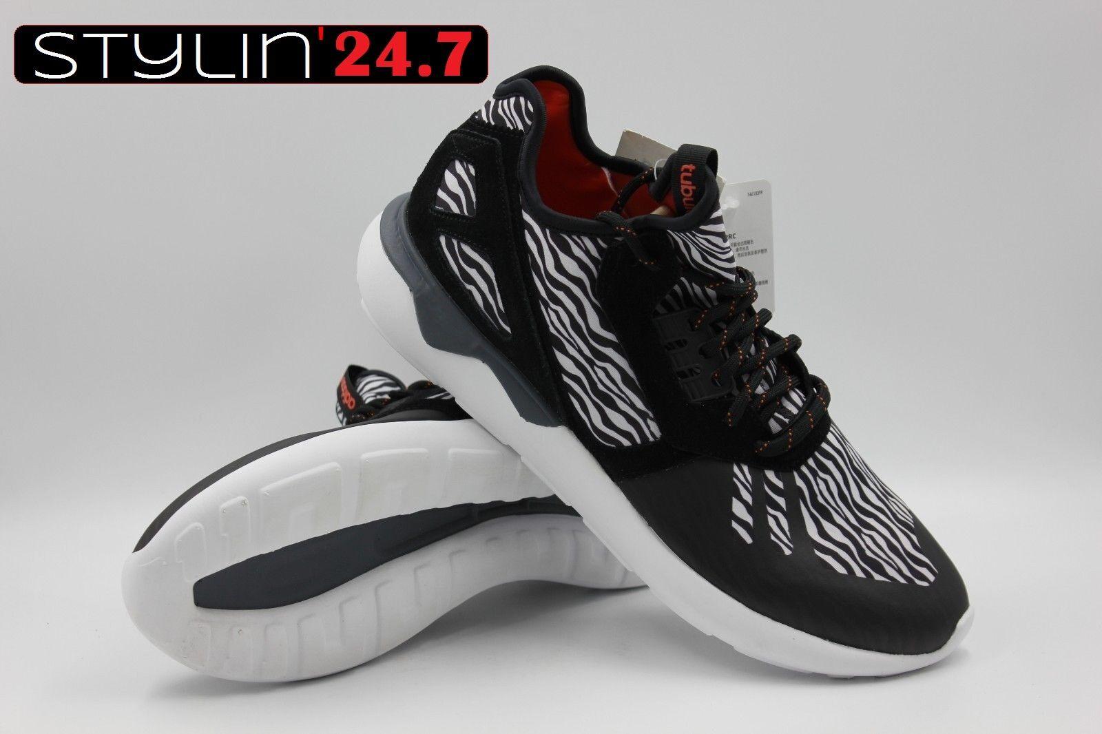ADIDAS B25531 Adidas Uomo Tubular Runner Zebra Blk/White Compare to the Yezzy