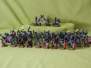 Wargames-Foundry-Warmonger-bien-pintados-de-guerra-Orcs-muchos-Modelos-Para-Elegir
