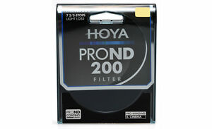 HOYA Pro ND200 Filter 49, 52, 55, 58, 62, 67, 72, 77, 82mm  7 2/3 stops  ND 200