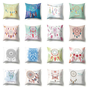 LD-Dreamcatcher-Throw-Pillow-Case-Sofa-Bed-Cushion-Cover-Home-Office-Decor-My