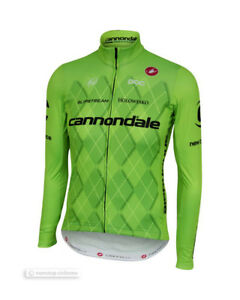 c16466dffd6 Image is loading Castelli-CANNONDALE-Pro-Team-Thermal-Long-Sleeve-Cycling-