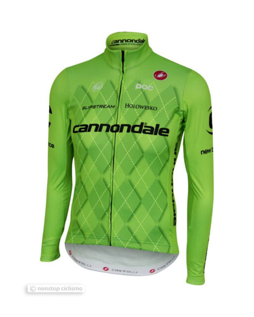 Castelli CANNONDALE Pro Team Thermal Long Sleeve Cycling Jersey - ALL SIZES fce18469a