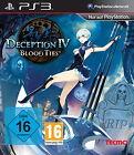 Deception IV: Blood Ties (Sony PlayStation 3, 2014, DVD-Box)