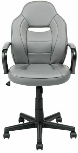 New other Argos Home Mid Back Gaming Chair - Grey-GO98.