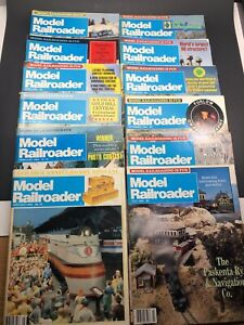 Model-Railroader-Magazine-Full-Year-12-Issues-from-1984-Vintage-Trains