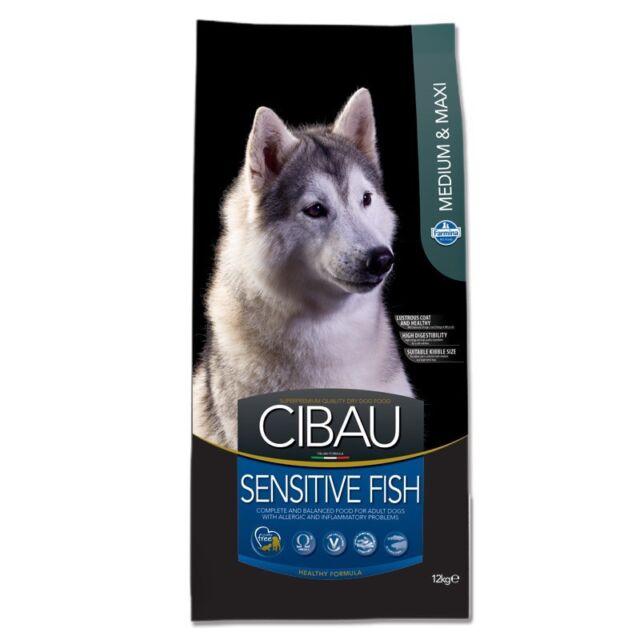 Farmina Cibau Sensitive Medium Maxi Pesce 12 kg Fish