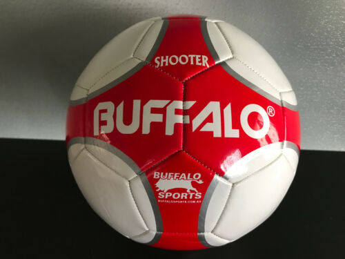 Brand New Buffalo Brand Soft Touch PVC RedWhite Size 5 Shooter Soccer Ball