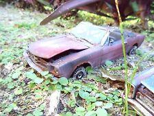 1964 1/2 ForD MusTang UnResTored Junker lot RuSt Junk 1/18 Diecast car BaRn fInD