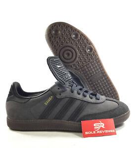 NEW-adidas-Originals-SAMBA-Classic-OG-BZ0227-Utility-Black-Reflective-Core-x1