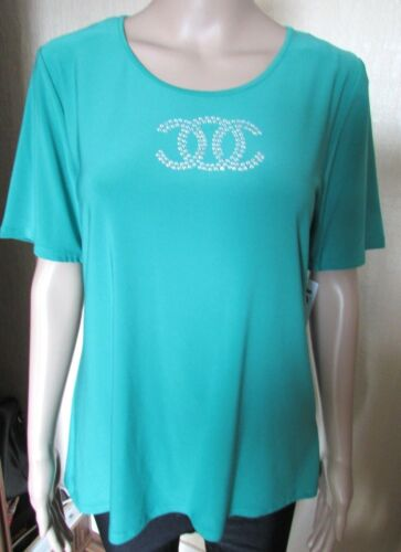 NWT JADE GREEN SEQUIN TOP SIZE 20//22