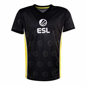 ESL-Victoire-E-Sports-Jersey-Male-XL-Noir-Jaune-TS331034ESL-XL