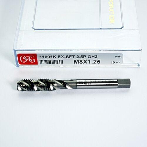 OSG HSSE M8 x 1.25 OH2 SPIRAL FLUTE TAP OSG