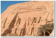 Nubian Monuments Egypt - Abu Simbel Classroom POSTER