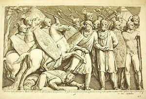 (3) Guerres daciques de Trajan bataille contre les Daces François Perrier 1645