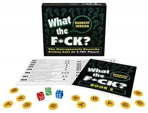 WHAT THE F*CK? RAUNCHY VERSION Drinking Board Party Game