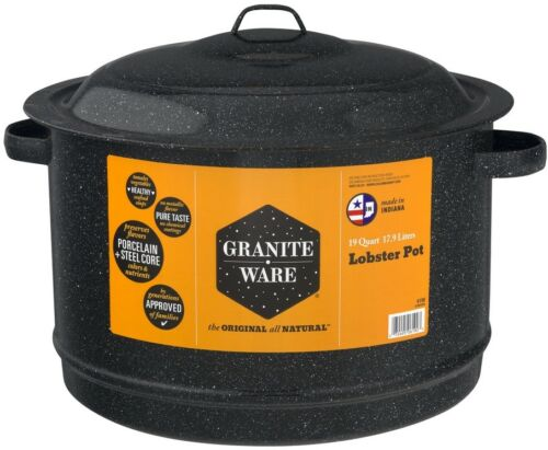 Granite-Ware 19 Quart Lobster Pot 1.0 CT