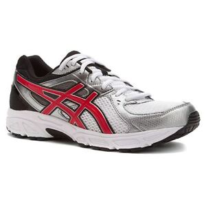 cfa836a54c33 Image is loading T424N0123-Asics-Mens-Gel-Contend-2-Trainers-White-