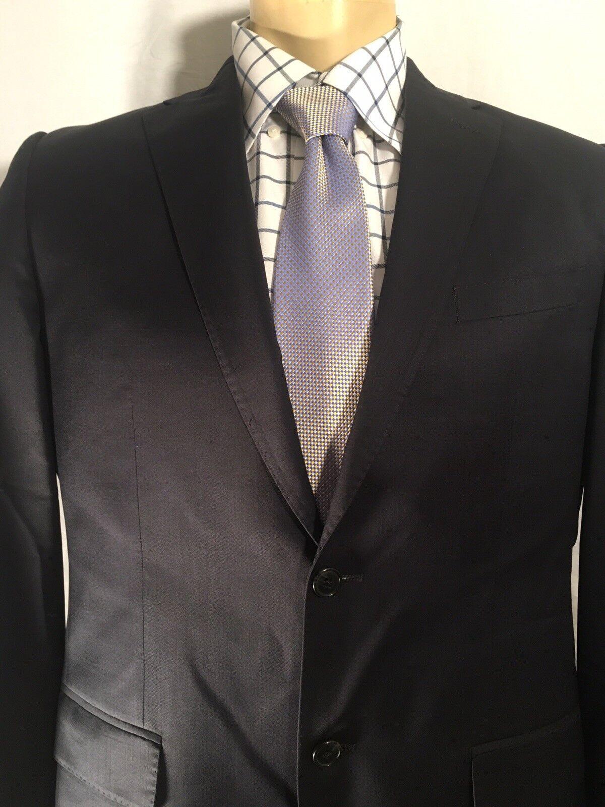 ERMENEGILDO ZEGNA Herren 40L CLOTH SAKS FIFTH AVENUE BLAZER SPORT COAT Blau