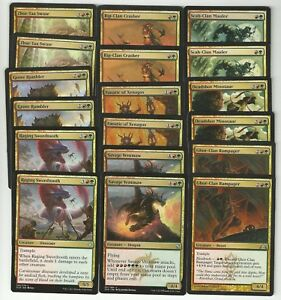 Details about Dragon Rampage -MTG -Custom Casual Deck - 60 Card Deck-Magic  the Gathering
