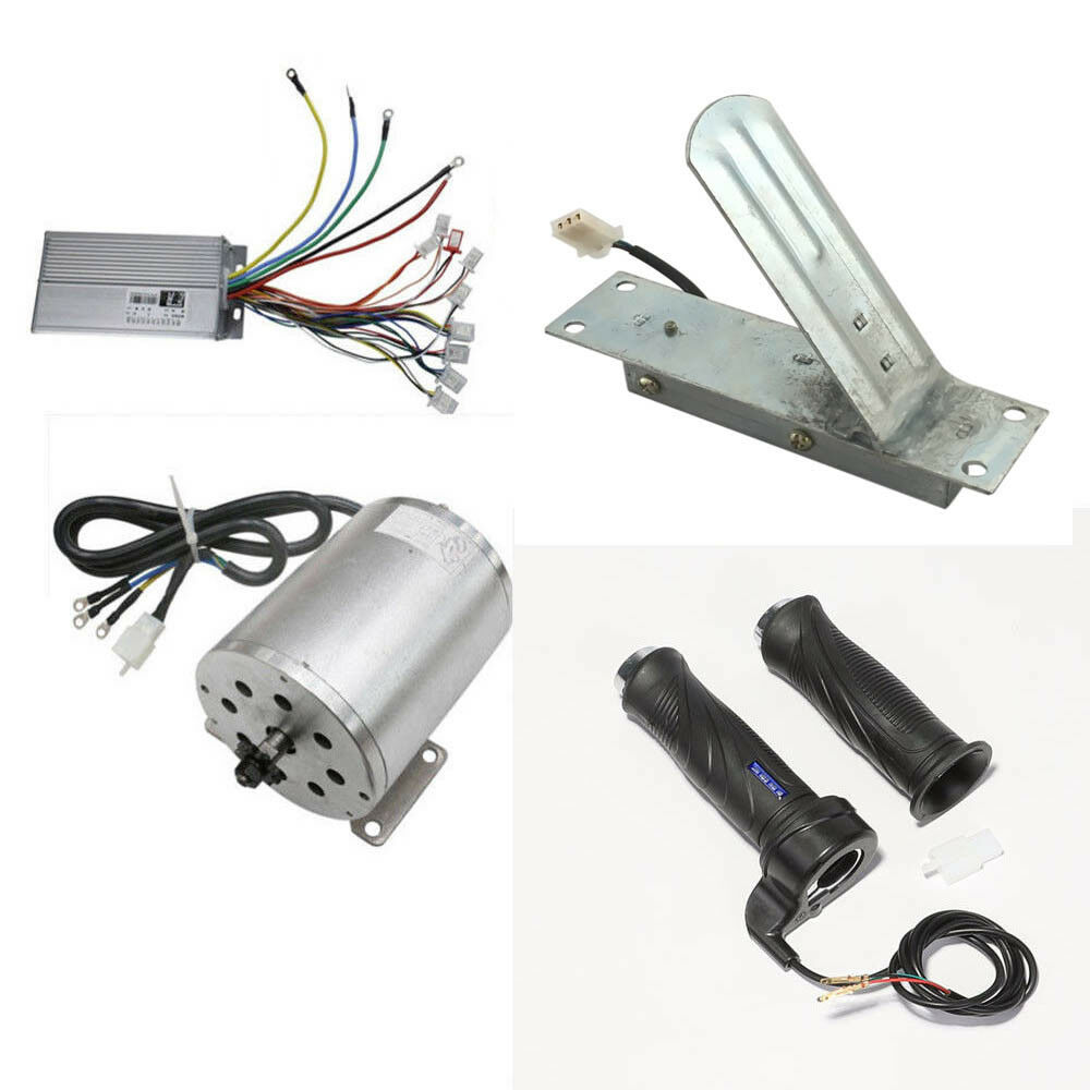 Brushless Motor+Controller+Thredtle Grips Pedal Electric go-kart ATV 1800W 48V