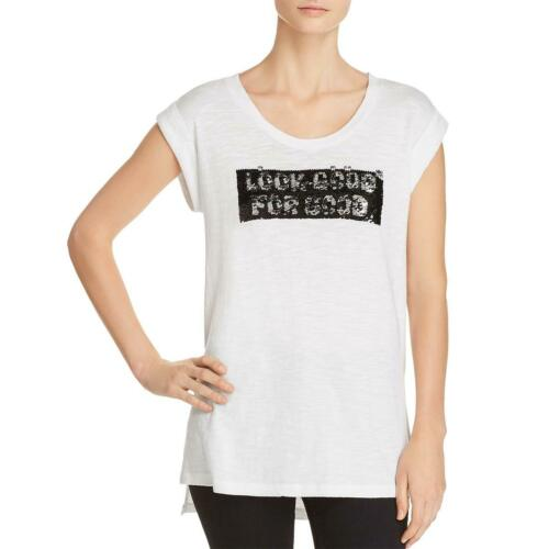 Kenneth Cole Womens Look Good For Good Knit Tank Pullover Top Shirt BHFO 8526