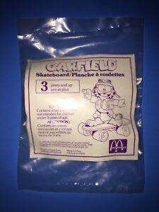 Vintage-1988-Mcdonalds-Garfield-Toys-Set-of-3