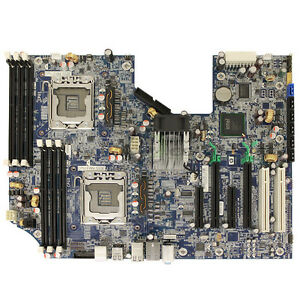 Details about HP Z600 Workstation Motherboard Systemboard Ass 460840-002 Sp  461439-001 LGA1366