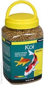 Pond-One-P1-26562-Koi-Sticks-750g-Bottle-for-Pond-Fish