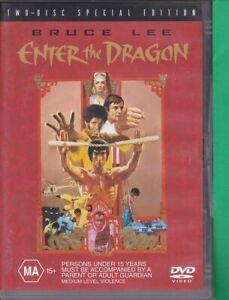 Enter-The-Dragon-Special-Edition-O-DVD-2004-2-Disc-Set-Region-4-Bruce-Lee