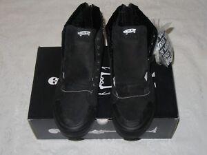 Vans-Kith-x-Mastermind-Japan-Sk8-Hi-Reissue-Zip-Black-Men-US-Size-11-Sneakers
