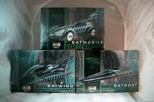 Revell 6721 Batman Forever Batwing 1:32 Scale Model Kit Requires Assembly