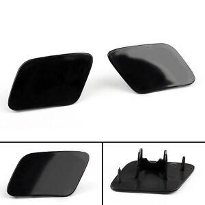 Front Bumper Headlight Washer Jet Cover Cap For Audi A4 B6 Quattro 02-05 L+R BS4