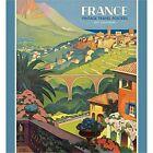 France Vintage Travel Posters 2017 Wall Calendar
