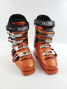 Tecnica-Rider-Youth-Downhill-Ski-Boots-w-Micro-Adjustable-Buckles-3-1-2-36