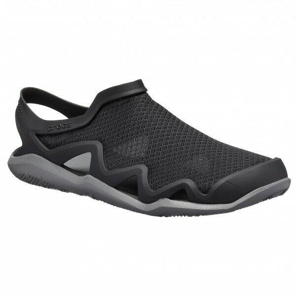 Inventif Sabot Crocs 205701-0dd En Eaux Vives Engrener Wave M Black / Slate Grey Homme Riche En Splendeur PoéTique Et Picturale