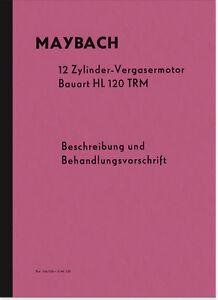 Maybach-HL-120-TRM-Bedienungsanleitung-Handbuch-Betriebsanleitung-Motor-HL120TRM