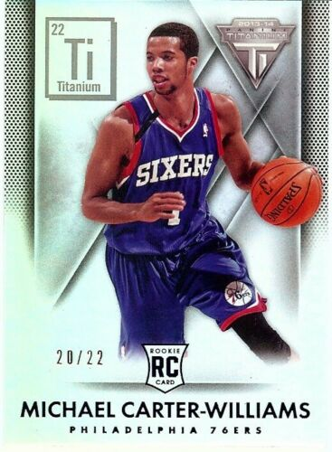 Michael CarterWilliams 201314 Titanium RC Rookie Card Ti Parallel #111 2022
