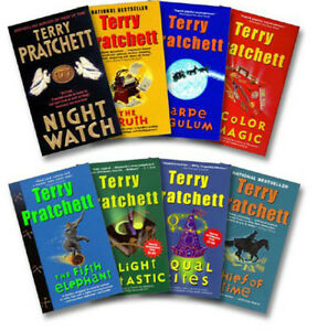 Discworld The Color of Magic + 7 more by Terry Pratchett (8 ...