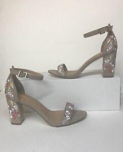 75682c3b726a madden NYC Brigid Women s Junior High Heels Dark Taupe size 10